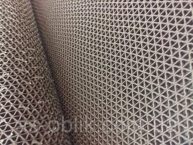 Ковер резиновый  95х120 см, коричневый