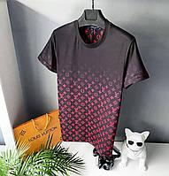РОЗПРОДАЖ ( M L) Чоловіча футболка men's Louis Vuitton, фото 1