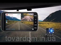 Автомобільний відеореєстратор +камера заднього ходу T652 FULL HD