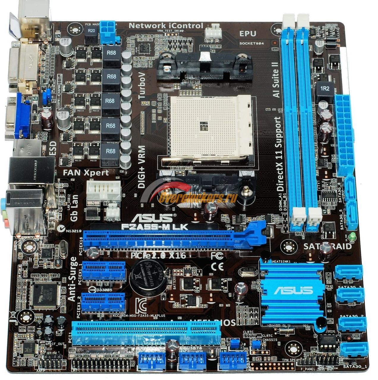 Материнская плата, AMD, сокет FM2, ASUS, в ассортименте