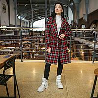 """Пальто молодіжне жіноче напіввовна """"Анталія"""", осінь-весна, фото 1"""