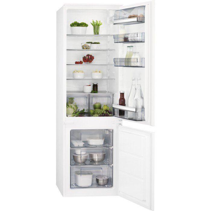 Холодильник с морозильной камерой AEG SCB61821LS