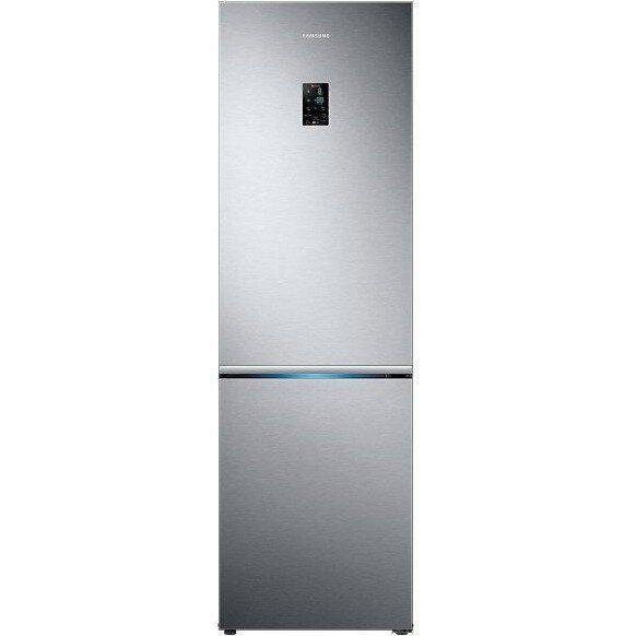 Холодильник з морозильною камерою Samsung RB34K6232SS