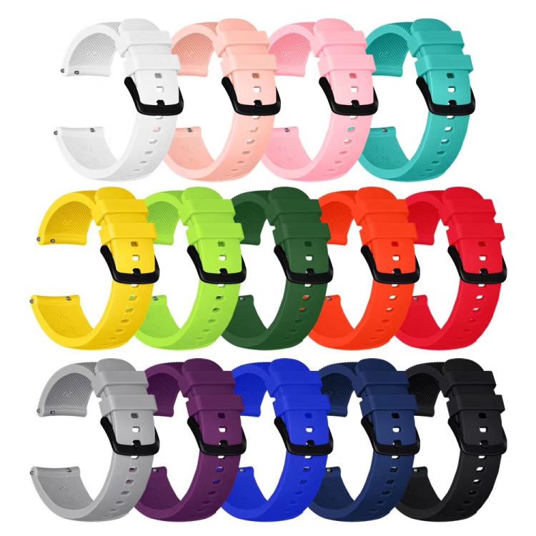 Ремешки для часов из силикона на Samsung Galaxy Watch 3 41mm 20 мм
