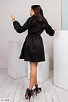 Черное платье с напылением, фото 7