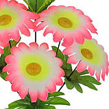 Искусственные цветы букет ромашек, 43см, фото 2