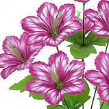Искусственные цветы букет колокольчиков, 46см, фото 2
