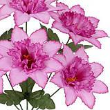 Искусственные цветы букет нарцисс острый , 35см, фото 2