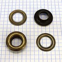 Люверс 12 мм антик t5037 (100 шт.)