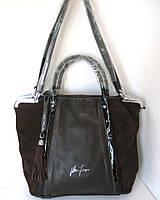 Кожаные  сумки с замшей Velina Fabbiano, фото 1