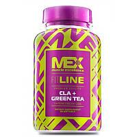 Жирные кислоты MEX Cla Plus Green Tea (90 капс)