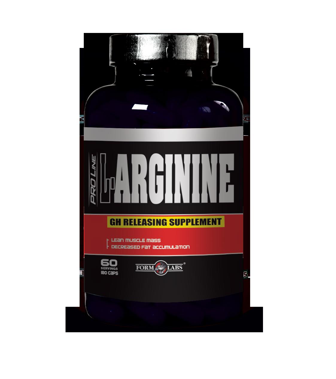 Амінокислоти Form Labs L-Arginine (180 кап)
