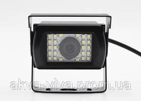 Камера переднего вида с диодной подсветкой для Автобусов, Грузовиков, Спецтехники. (КПВ-193Д)