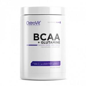 Аминокислоты OstroVit BCAA Glutamine (500 г)