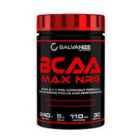 Амінокислоти Galvanize Nutrition BCAA MAX NRG (240 г)