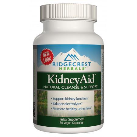 Комплекс для Поддержки Функции Почек RidgeCrest Herbals KidneyAid (60 желевых капсул)