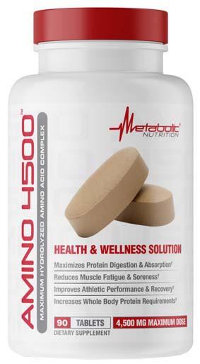 Аминокислоты Metabolic Nutrition Amino 4500 (90 таб)