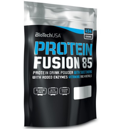 Протеїни BioTech Protein Fusion 85 (454 г) Оригінал! (337503)