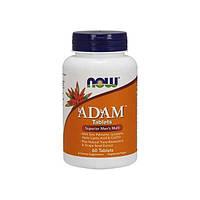 Вітаміни для чоловіків NOW Foods Adam (60 таб) Оригінал! (335347)