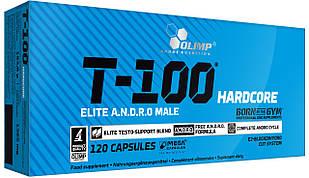 Стимулятор тестостерону Olimp T-100 Hardcore (120 кап)