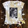 Женская футболка с принтом - Леонардо Ди Каприо