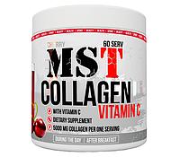Препарат для відновлення суглобів і зв'язок MST Nutrition Collagen Vitamin C (390 г) Оригінал! (339071)