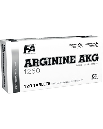 Аминокислоты Fitness Authority Arginine 1250 мг (120 таб) Оригинал! (339795)