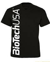 Футболка BioTech men's T-Shirt black Оригінал! (338902)