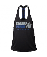 Майка Gorilla Wear Nashville Tank Top Black/Navy Оригінал! (340542)
