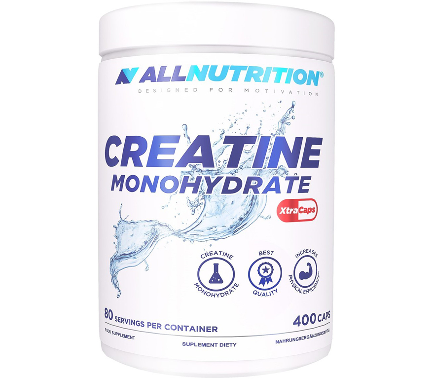 Креатин All Nutrition Creatine Monohydrate XtraCaps (400 капсул)