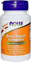 Активне довголіття NOW Dairy Digest Complete (90 кап)