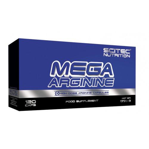 Предтренировочний комплекс Scitec Nutrition Mega Arginine (120 капсул)