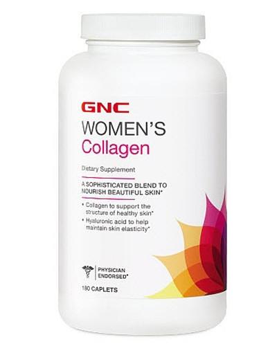 Жіночий препарат для відновлення суглобів і зв'язок GNC women's Collagen (180 кап)