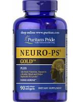 Препарат для регулирования нервных процессов Puritan's Pride Neuro-PS Gold (90 капс) Оригинал! (336134)