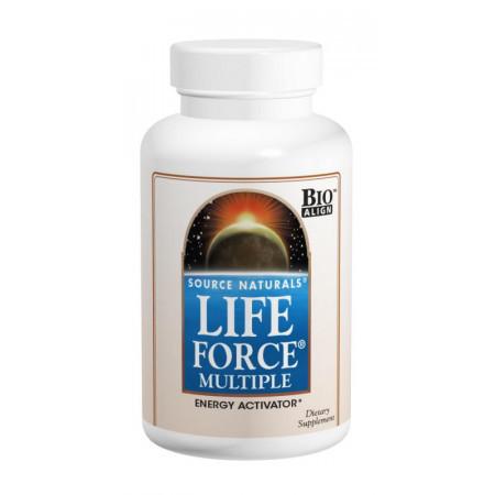 Мультикомплекс для Підтримки Енергії Source Naturals Life Force (120 таблеток) Оригінал! (338045)