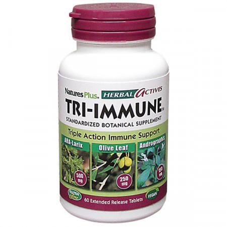 Комплекс для Підтримки Імунної Системи Natures Plus Tri-Immune (60 таблеток)