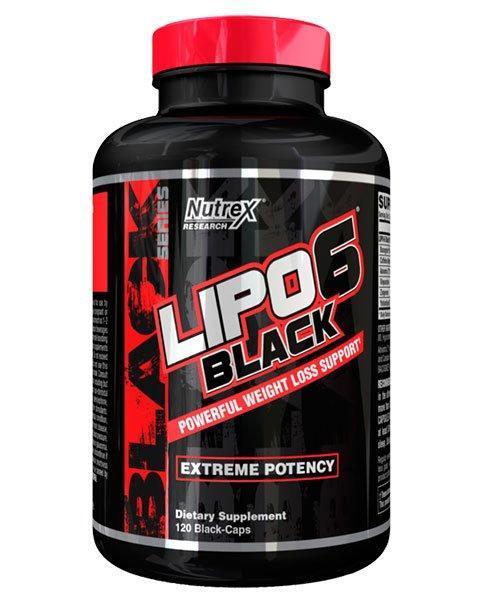 Жиросжигатель Nutrex Lipo 6 Black (120 капс)