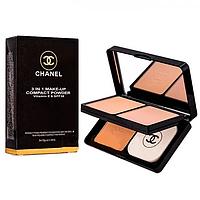 Тройная пудра Chanel 3 in 1 Make-Up SPF 30 & Vitamin E (ПАЛИТРА)