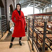 """Модное красное молодежное женское весеннее пальто """"Мадрид"""", фото 1"""