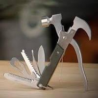 Багатофункціональний молоток-обценьки Інструмент Мультитул Tac Tool 18 in 1