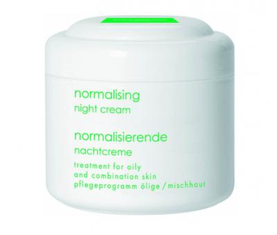 Нормализирующий ночной крем для жирной и комбинированной кожи 250 мл DENOVA HOME