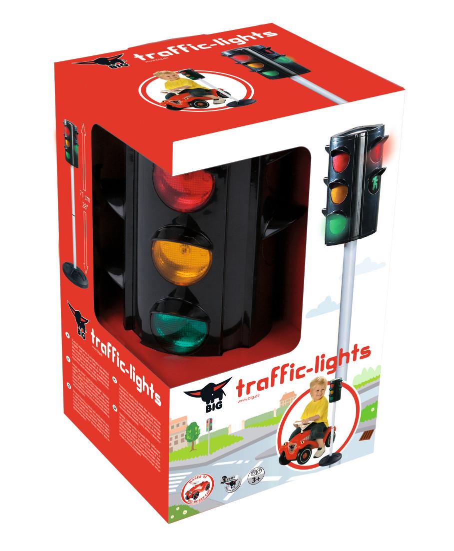 Игрушечный Светофор BIG Traffic Lights (71 см) автоматический на подставке (1197)
