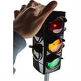 Игрушечный Светофор BIG Traffic Lights (71 см) автоматический на подставке (1197), фото 4