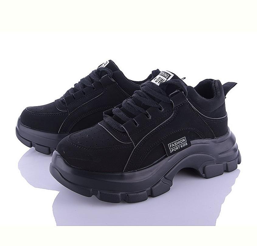 Кроссовки женские AELIDA J01-11 черные