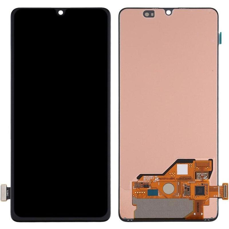 LCD Samsung A415F/A41-2020 + touch Black (Changed Glass)