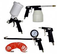 Набір пневмоинструментов 5 шт, Werk KIT-5PG (54316) Т