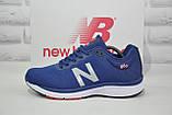 Кросівки чоловічі в стилі New Balance 860 сині сітка, фото 5