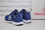 Кросівки чоловічі в стилі New Balance 860 сині сітка, фото 4