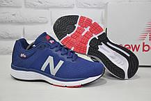 Кроссовки мужские в стиле New Balance 860 синие сетка