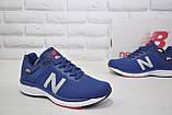 Кросівки чоловічі в стилі New Balance 860 сині сітка, фото 3